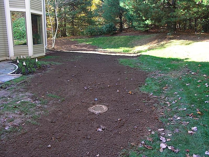 Catch basin in backyard 28 images catch basin in for Yard drainage basin