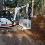 Septic Tank - 4x4 Concrete leaching galleries