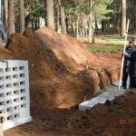Septic Tank - Leach field instillation