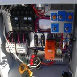 Sewer Work - Custom pump injection control panel