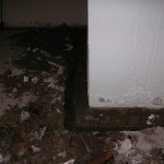 Waterproofing - Clogged clay footing drain